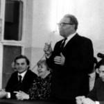 Выступает П.Д.Фетисов – 1-ый директор