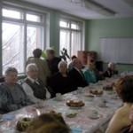 Встреча учителей школы разных лет.