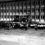 Церемония открытия школы